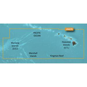 Garmin BlueChart g3 Vision VUS027R Hawaiian Islands Mariana Islands microSD/SD