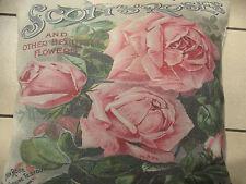 Kissen im Landhaus-Stil mit Blumen- & Garten-Thema