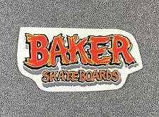 Baker Skateboards Sticker 3.75in red Large NOS si