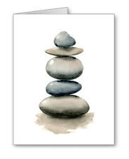 Stacked Rocks Note Cards With Envelopes
