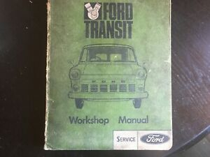 FORD TRANSIT EARLY 69 FORD WORKSHOP SERVICE MANUAL
