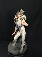 Sideshow Premium Format Luke Skywalker and Yoda Statue 0043/1150