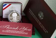 1995 Olympics Cycling Biking Proof 90% Silver Dollar US MINT Coin Box and COA