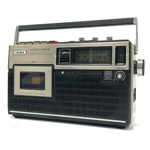 AIWA TPR-430 Variable Monitor 3 Band Cassette Radio Recorder - As Is - TG01B