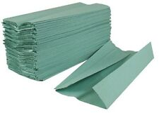 Green C Fold Paper Hand Towels Full Box Qty 2688 (PP100)