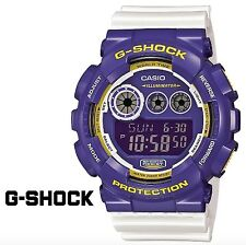 Casio G-Shock * GD120CS-6 Crazy Color XL Purple White Gshock Watch COD PayPal