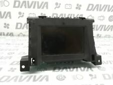 04 Vauxhall Opel Astra Dashboard Multifunction Info Display Screen Unit 13111165