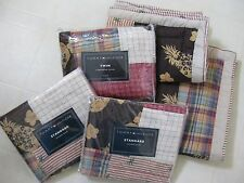 Tommy Hilfiger Twin Comforter Cover w/4 Shams / Island Patchwork / BNIP