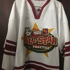 JEREMY ROENICK SIGNED 2004 NHL ALL STAR GAME PRACTICE CCM JERSEY Flyers Wild
