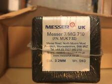 Messer 7 MG 710 Electrode Arc Welding Rods hard facing cast Steel 5kg 3.2mm