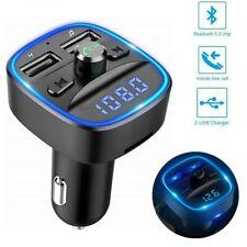 FM Transmitter Car MP3 Player KFZ Bluetooth Auto USB Charger Freisprechanlage DE