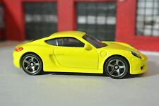 Matchbox Porsche Cayman - Yellow - Loose - 1:64