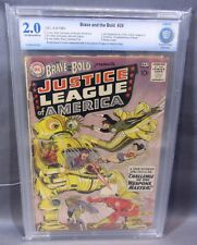 BRAVE & THE BOLD #29 (2nd Justice League JLA app) CBCS 2.0 DC Comics 1960 cgc