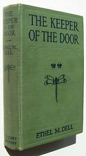 THE KEEPER OF THE DOOR Ethel M. Dell HC 1915 Frontispiece - O1