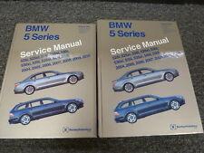 2007 2008 2009 2010 BMW 525i 528i 530i 535i Shop Service Repair Manual Set