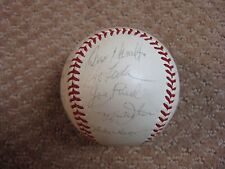 1972 Oakland A's Official OAL Team Signed Baseball Reggie Jackson JSA