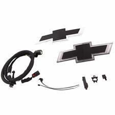 2017-2020 Chevrolet Colorado ZR2 Illuminated Black Bowtie Emblem Kit 84154346 OE