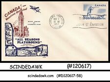 Canada - 1957 Outdoor Recreation Sports / Hunting - Fdc (Id:110)