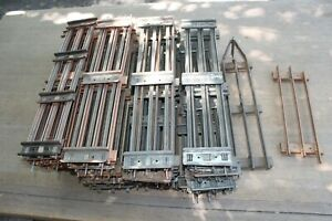 Lionel Prewar Standard Gauge 41 Straight Tubular Tracks