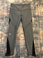 Under Armour HeatGear Women's High Waisted Running Yoga Athletic Leggings Size M
