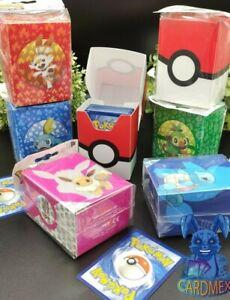Pokemon Karten Deckbox AUSWAHL ca. 80 Karten Schutz Aufbewahrungsbox Ultra Pro
