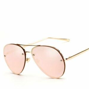 Rose Gold Pink Mirror Sunglasses Women   Shades Glasses Female shades