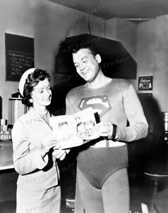 8x10 Print George Reeves Superman 1952 #3598