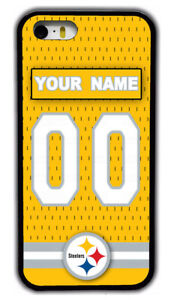 Pittsburgh Steelers Custom  Rubber Phone Case Cover For iPhone /Samsung /LG