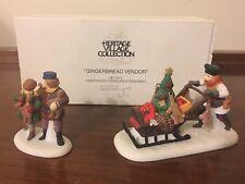 Dept 56 Heritage Village Gingerbread Vendor - 58402