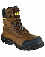 CAT Caterpillar Doffer Safety Waterproof Composite Toe Mens Boots UK6-12