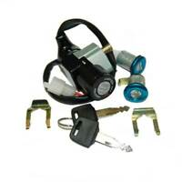 KIT SERRATURE CON CHIAVE LOCKS HONDA SH SCOOPY 50 / 100 '96 / '01