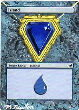 Ile altérée - Altered Lorwyn Island - Mox Sapphire - Michael Newton - Magic mtg