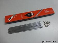 NEU – 24x Sapim Speichen verzinkt mit Nippel  2 x 236 mm