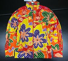 Adidas Originals Jeremy Scott Floral Track Top Jacket Rare ObyO AC1822 Large L