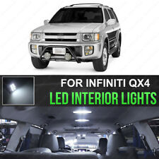 6pcs Bright White SMD LED Interior Light Kit For 1995-2004 Nissan Pathfinder QX4
