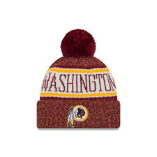 New Era NFL Washington Redskins Bobble 2018/2019 Sport Sideline Gorro de punto