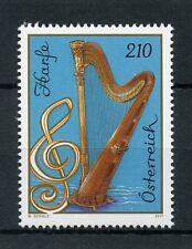 Austria 2017 MNH Harp 1v Set Music Musical Instruments Stamps