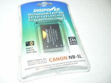 DIGIPOWER RECHARGEABLE BATTERY Canon NB-5L (BP-CN5L)