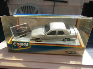 94166 CORGI FORD COSWORTH WITH CAR BADGE/GOOD CONDITION/BOXED(BOX SHELFWORN)