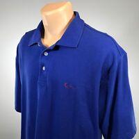 Kani Gold 2XL Polo Mens Shirt Size XXL Blue Short Sleeve