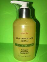 6oz Hyaluronic Acid Serum Cream Collagen Argirelin Matrixyl Face Eyes Anti-Aging