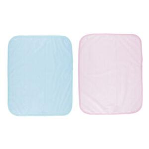 2x Saugfähiges, Waschbares, Weiches Inkontinenzbetttuch Mit Matratzenschutz