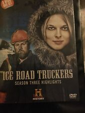 Ice Road Truckers Season Three Highlights 3 Discs Brand New And Sealed