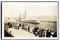 Egypte, Bateau sur le canal de Suez  Vintage silver print Tirage argentique