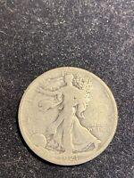 1921 D Walking Liberty Half Dollar/ Key Date/ 100 Years Old