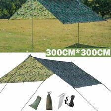 Waterproof Picnic Rain Sun Shade Tent Tarp Hammock Shelter Camping Awning Cover