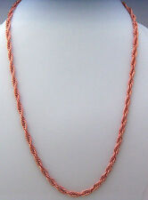 "Copper Neck Chain Necklace 24""  Wheeler Sunrise Healing Arthritis Pain cn 004"