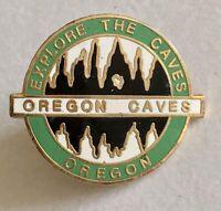 Oregon Caves Lapel Pin Souvenir Cave Exploration Enamel Pin A142
