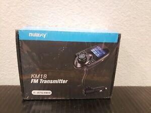 Wireless In-Car Bluetooth FM Transmitter Radio Adapter Car Kit  NEW IN PLASTIC!