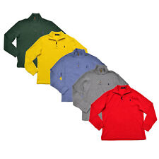 Polo Ralph Lauren para hombre Suéter Con Cremallera Suéter Abrigo Pony Logo S M L XL XXL